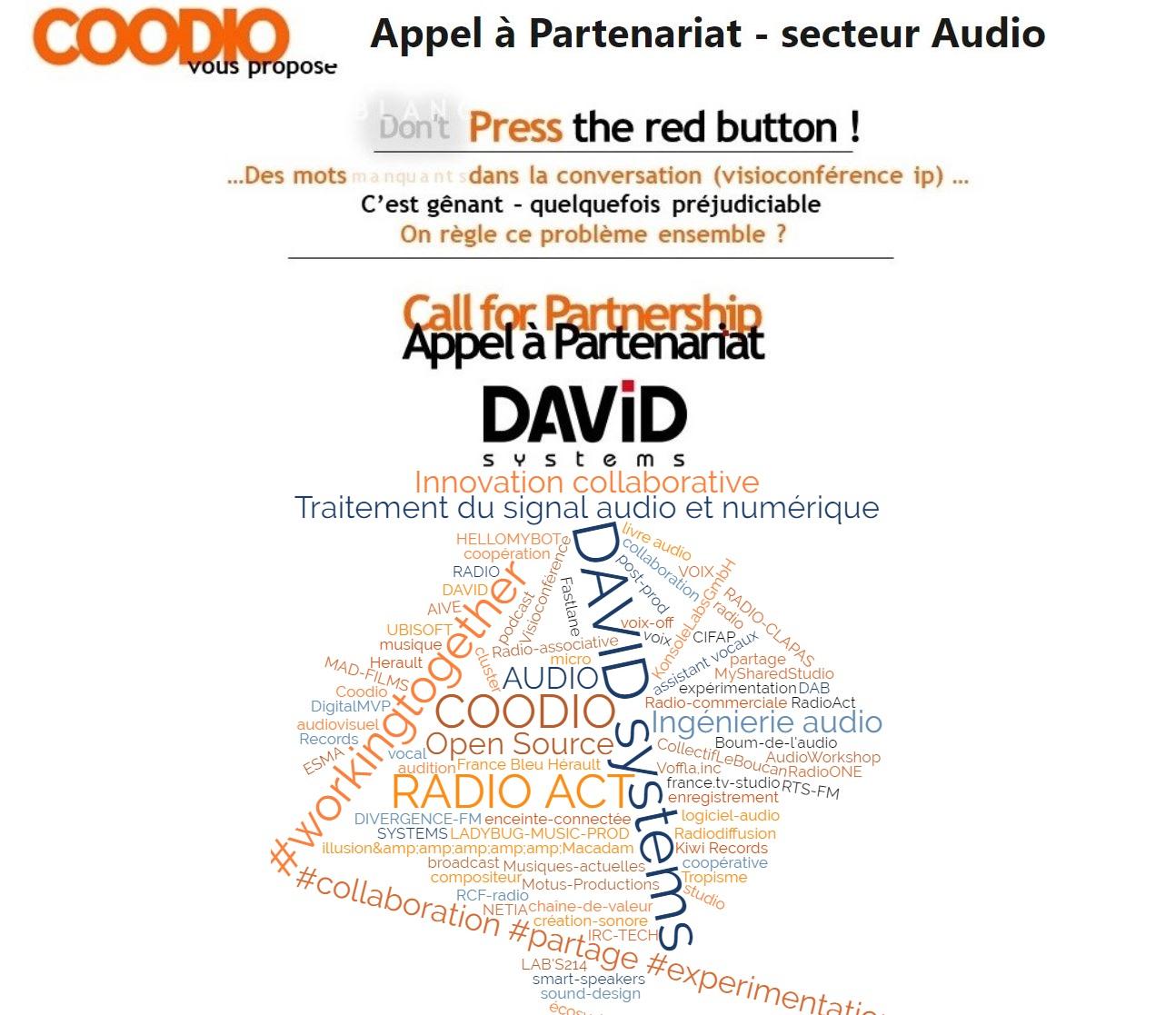 Appel a partenariat coodio david systems