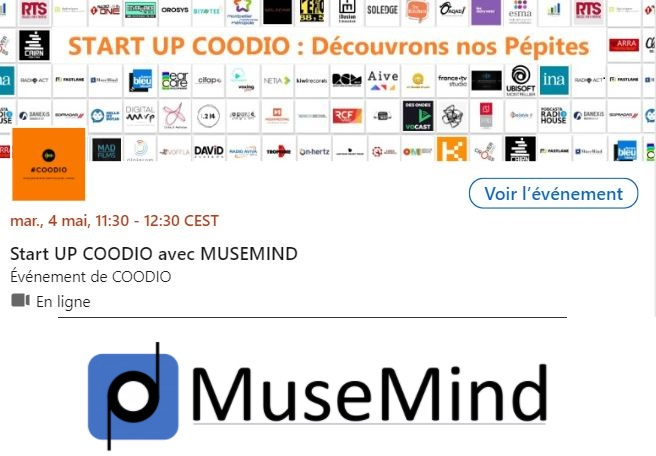musemind start up Coodio